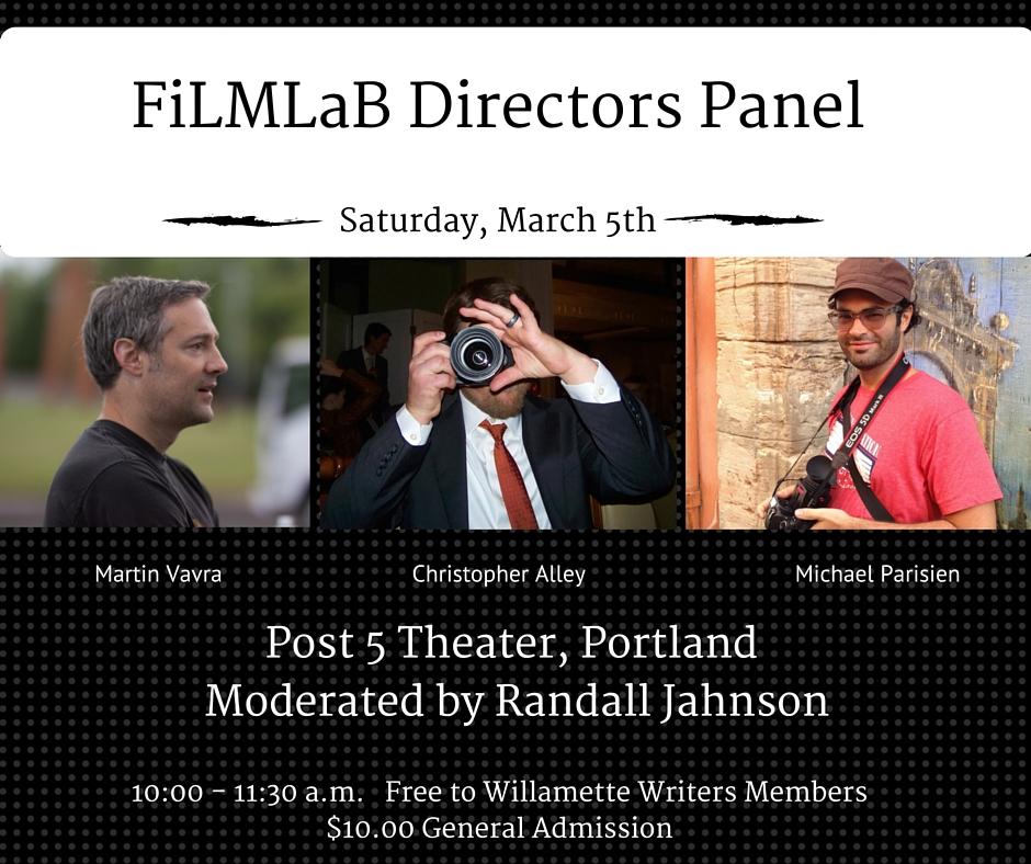 FiLMLaB Directors Panel